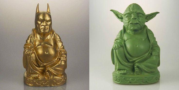 Pop culture Buddha sculptures let you worship your favorite superheroes and villains » Lost At E Minor: For creative people
