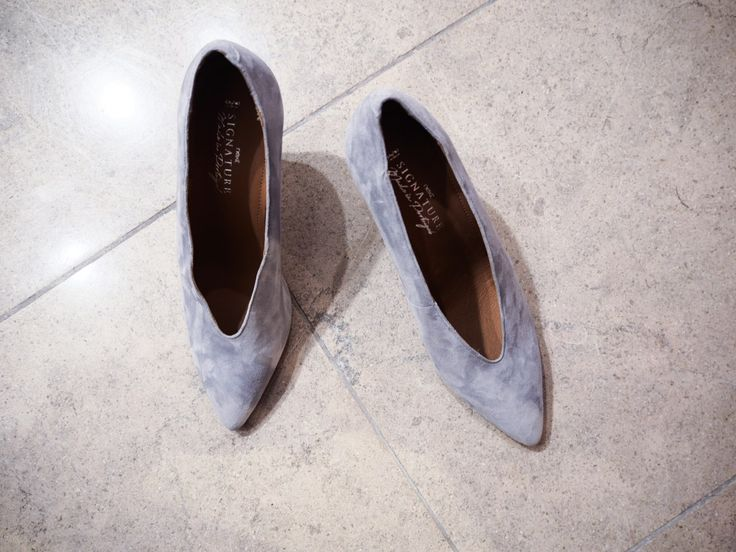 Celine inspired shoes from next summer 18 collection. Made out of light grey suede with a perfect heel.  Next Summer 18 http://gabriellalundgren.com/next-summer-18