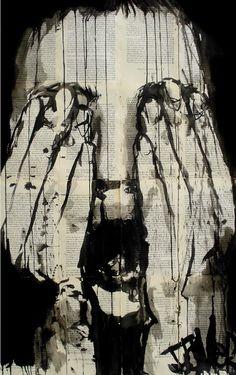 "Saatchi Online Artist Loui Jover; Drawing, ""scream"" #art"