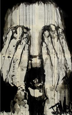 "Saatchi Online Artist Loui Jover; Drawing, ""scream"" #art"