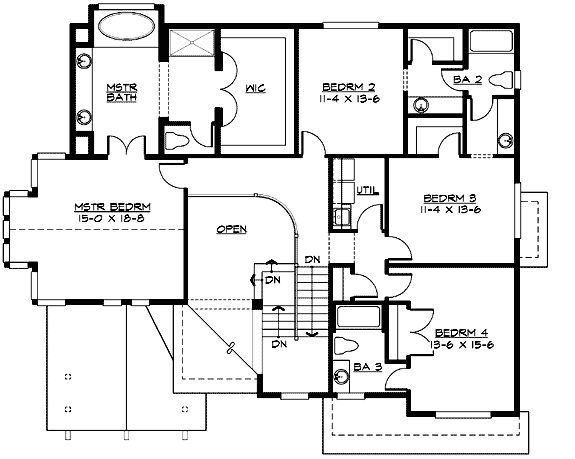 Plan 23350jd 3 or 4 car tandem garage house plans for 4 car tandem garage