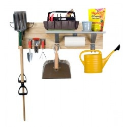 storeWALL's Garden Kit takes the guess work out of organizing your common garden tools - everything you need for those basic garden tools (except for the green thumb)
