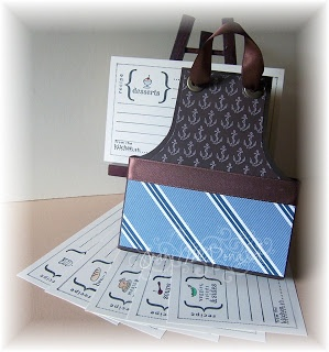 Apron with Recipe Cards