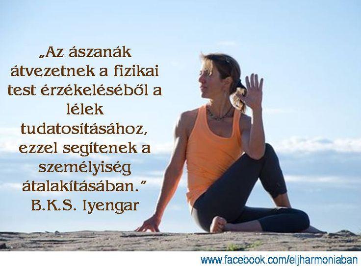 B.K.S. Iyengar www.eljharmoniaban.hu  #kezdőjóga #hathajóga #jógatanfolyam #jóga #jógabudapest #meditáció #meditációstanfolyam  #jógastúdió #yogabudapest #yogabudapest  #eljharmoniaban  #idézet #iyengar