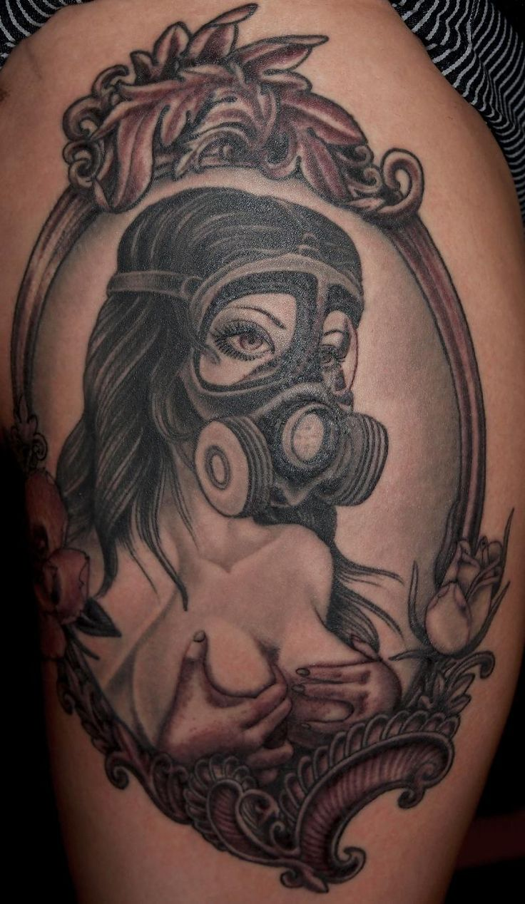 44 best gas mask tattoos collection - Gas Mask Tattoo Google Search