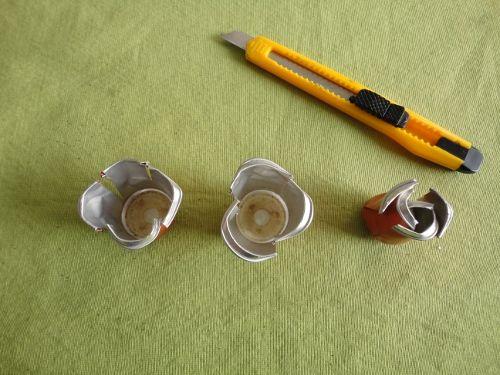 Partes de la rosa de cápsulas Nespresso
