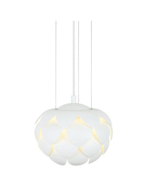 Acantus White Pendant Light