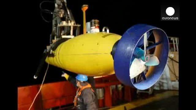 El minisubmarino que busca el avión malasio terminará su rastreo la semana que viene