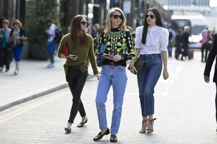 25 Best Colorful Street Style From London Fashion Week Ss16 Images On Pinterest London Fashion