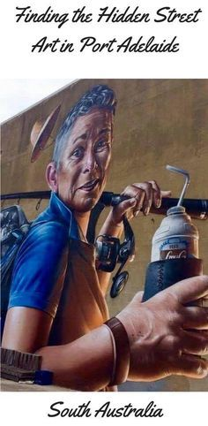 Port Adelaide has a growing street art scene. Here are some of the pieces and how you can visit to see more | Things to do in Port Adelaide | Port Adelaide street art
