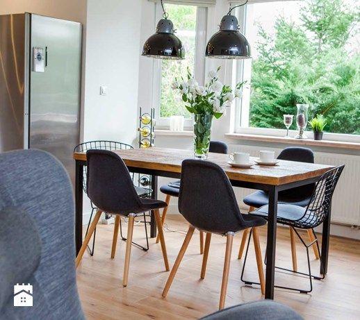 Jadalnia styl Skandynawski - zdjęcie od Pracownia Architektoniczna Małgorzaty Górskiej-Niwińskiej