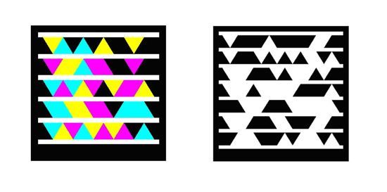 Microsoft tag four color and black and white by Search Engine Land, via Flickr: Color