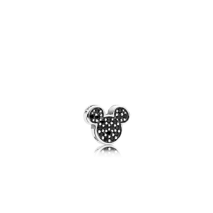 Disney, Sparkling Mickey Icon Petite Locket Charm