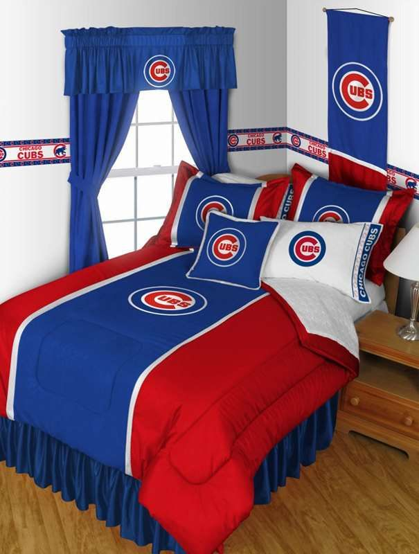 Sports Coverage Chicago Cubs Sidelines Comforter Mlb Bedding Sets Pinterest And Baseball