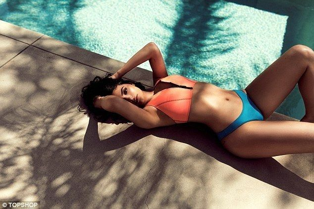 Kylie and Kendall Jenner sizzle in skimpy bikinis for new clothes line - Kylie Jenner Style
