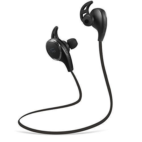 TaoTronics Casque Bluetooth audio écouteurs oreillettes sport sans fil, Bluetooth 4.0 avec APTX (CVC suppression de bruit 6.0, appels mains libres, micro intégré) pour Apple, iPhone Android et Windows Smartphone / Tablettes - Noir TaoTronics http://www.amazon.fr/dp/B011R6IPDE/ref=cm_sw_r_pi_dp_3UHowb1K408X6