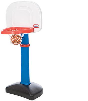 Something you WANT! Little Tykes basketball set so Levi doesn't have to use the drying rack anymore to throw his ball through