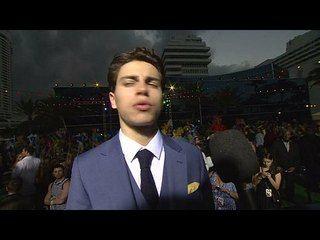 Rio 2: Jake T. Austin Miami Premiere Interview --  -- http://www.movieweb.com/movie/rio-2/jake-t-austin-miami-premiere-interview