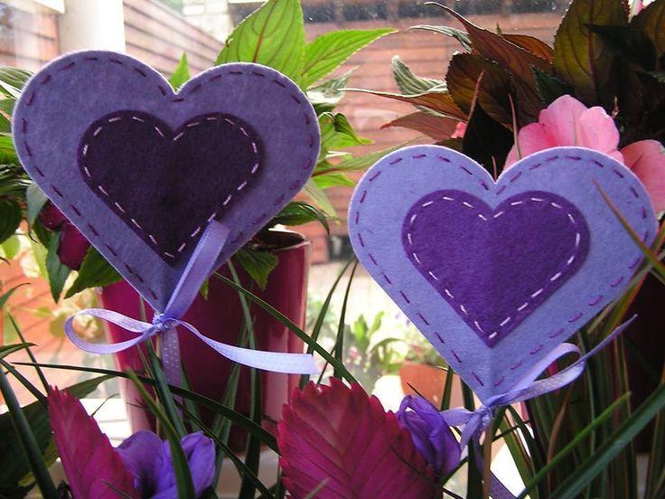 purple hearts/lila szívek
