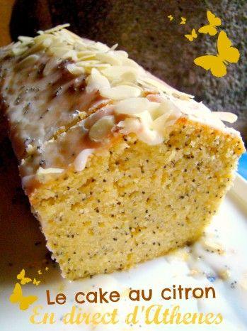 Je ne vous propose pas aujourd'hui de gourmandise grecque mais un cake d'Outre-Manche puisqu'il s'agit de la recette inspirée du cake au citron et graines de pavot de Jamie Oliver, connu ici aussi en Grèce... Ce cake est parfait, avec son glaçage acidulé,...
