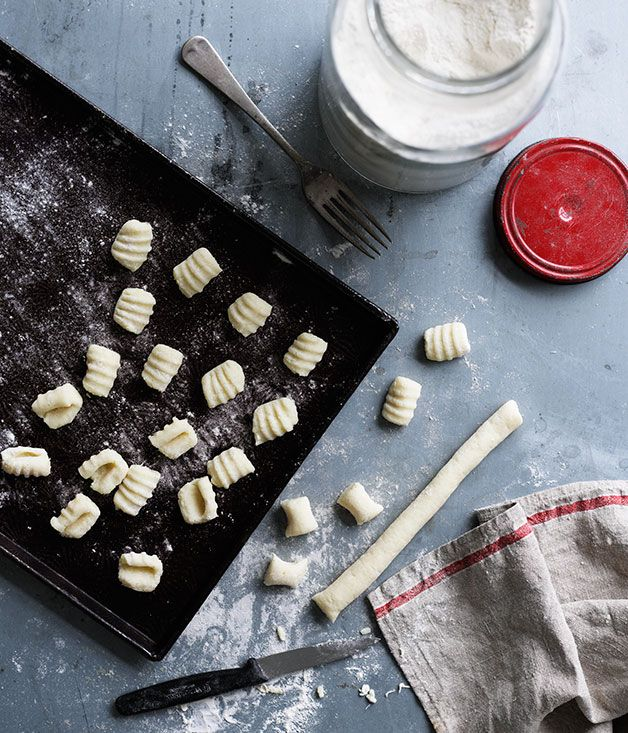 Australian Gourmet Traveller recipe for gnocchi di patate.