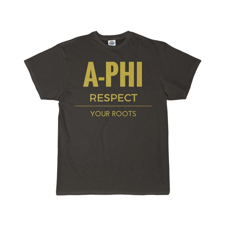 Alpha Phi Alpha A-Phi Respect Men's T-Shirt