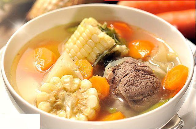 Receta del sancochado peruano, preparacion e ingredientes paso a paso. aprende a cocinar comida Peruana.