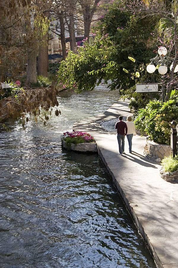 The Riverwalk, Downtown San Antonio, Texas