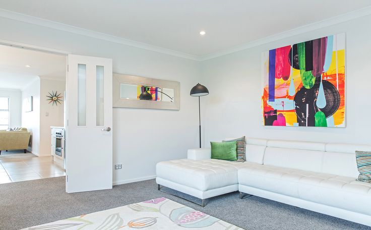 Add colour and style to your home with bright artwork.