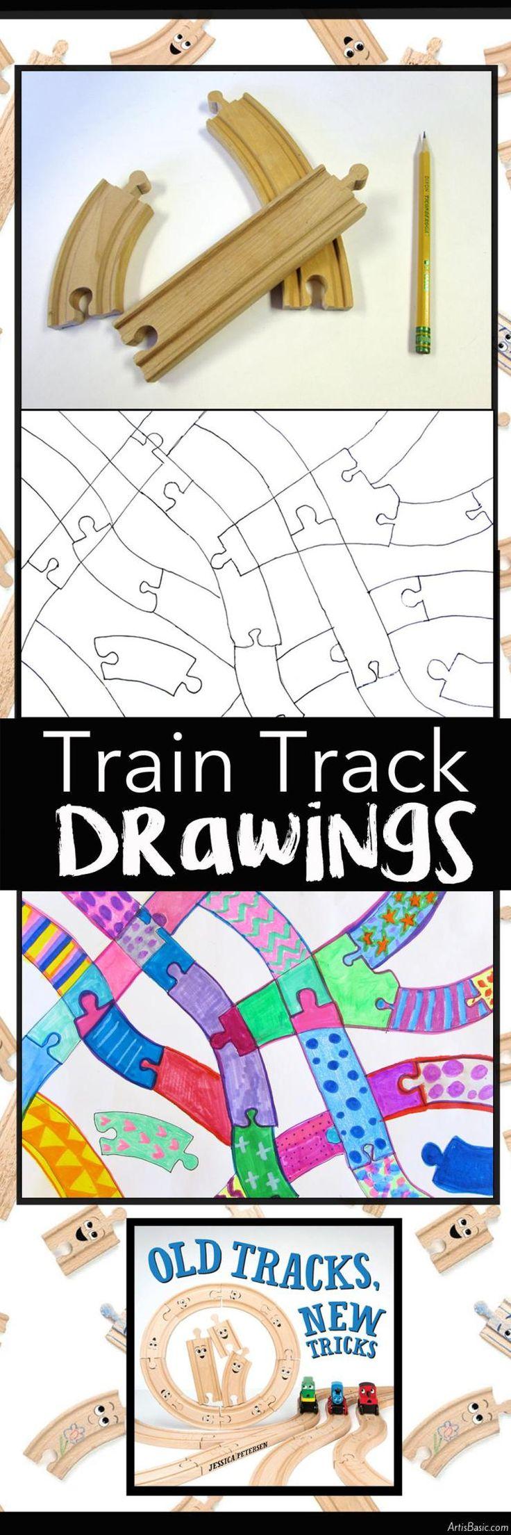 Train Track Drawings