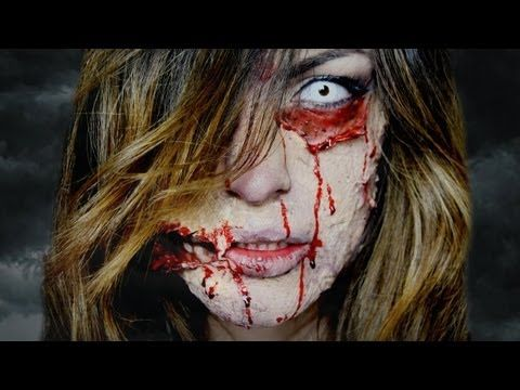 ▶ Tutorial Trucco Halloween zombie 2013 - Septic Zombie - YouTube