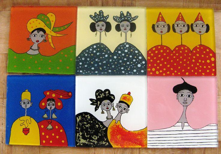 D'après les tableaux d'Ibrahima Kane