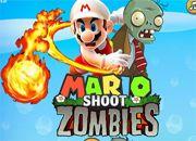 Mario Shoot Zombies | Juegos Plants vs Zombies - jugar gratis