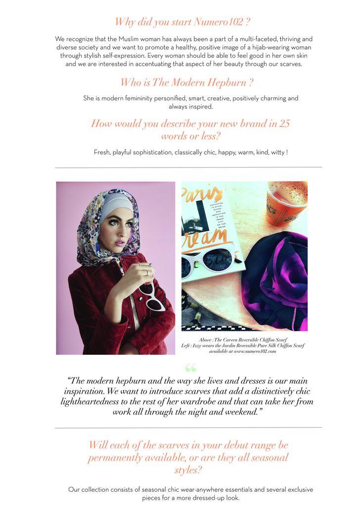 numero102 chic parisian inspired hijab scarves muslim fashion