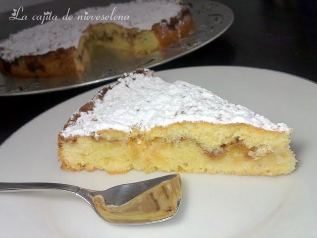 La cajita de nieveselena: Pastel sueco de manzana y almendra