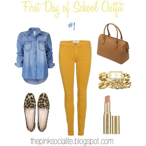 First Day of School Outfit : Part 1 - Polyvore