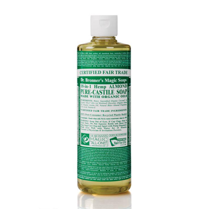 Liquid Soap ||Almond Castile