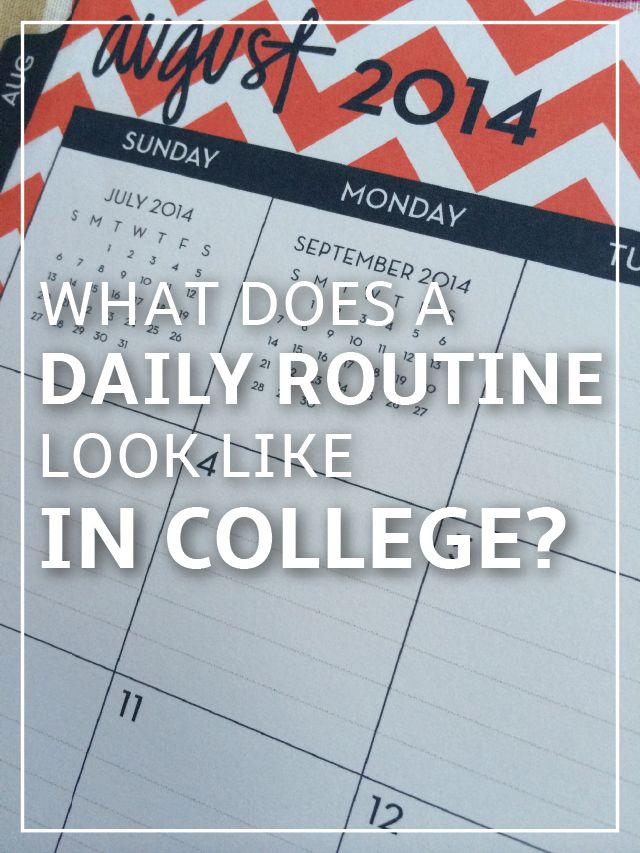 My College Daily Routine: Morning Routine, Night Routine and everything in between! | Gina Alyse