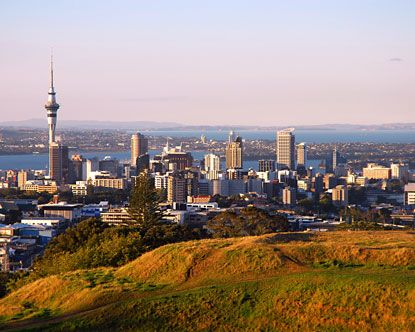 Auckland, NZ ... One of the few cities I would ever want to live
