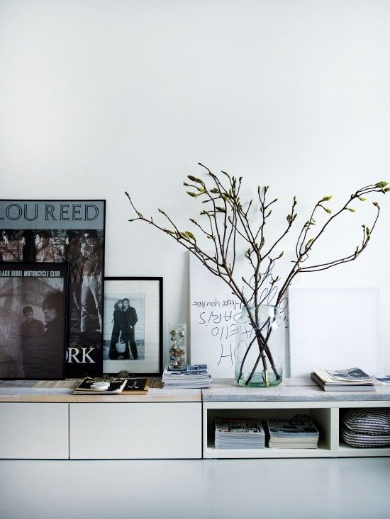 TV-möbel till allrum, (Bestå, IKEA)