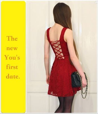 Your first date as a sissy TG Caption - Hard TG Caps - Crossdressing and Sissy Tales and Captioned images