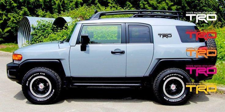 "Awesome Toyota 2017: 2pcs 11"" TRD Toyota Racing Development Vinyl Door Fender Decals FJ Cruiser #Orac...  #decals #cars #semitruck #trucks #vinyl #wraps Check more at http://carsboard.pro/2017/2017/04/26/toyota-2017-2pcs-11-trd-toyota-racing-development-vinyl-door-fender-decals-fj-cruiser-orac-decals-cars-semitruck-trucks-vinyl-wraps/"