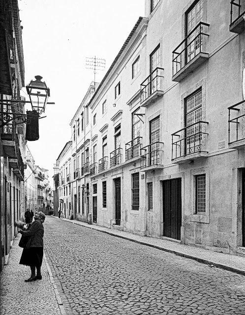Lisboa de Antigamente: Antiga casa dos Marqueses de Minas
