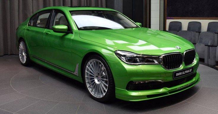 New Alpina B7 Dipped In Java Green Metallic Is...Umm...Different [62 Pics] #Alpina #Alpina_B7