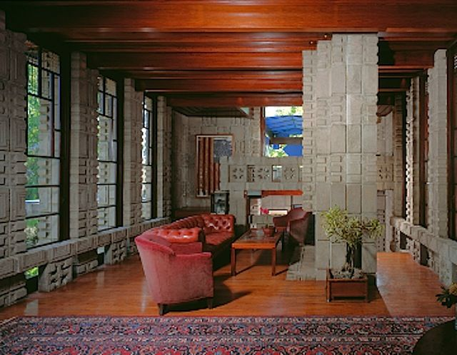 70 best images about flw storer house on pinterest los for Living room 6250 hollywood blvd