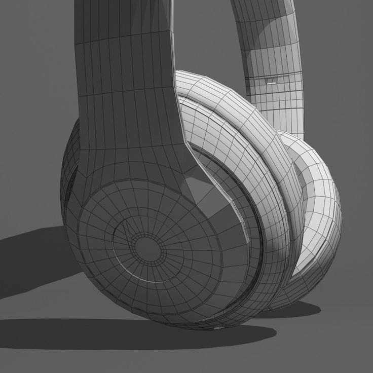 3ds max monster beats dr dre