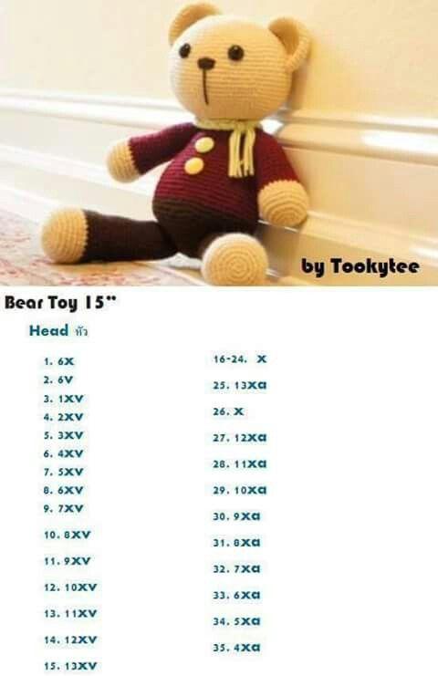 """BearToy15""""1/2"""