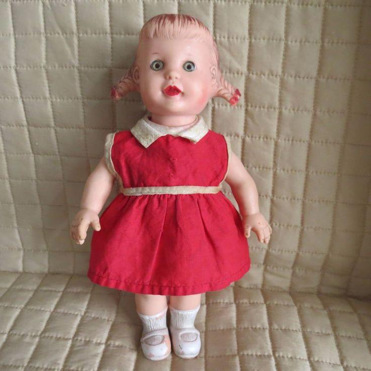 116 Best Vintage Dolls Rubber Celluloid Plastic Images