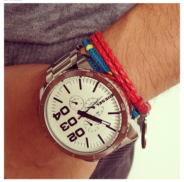 Silver XL Watch!!