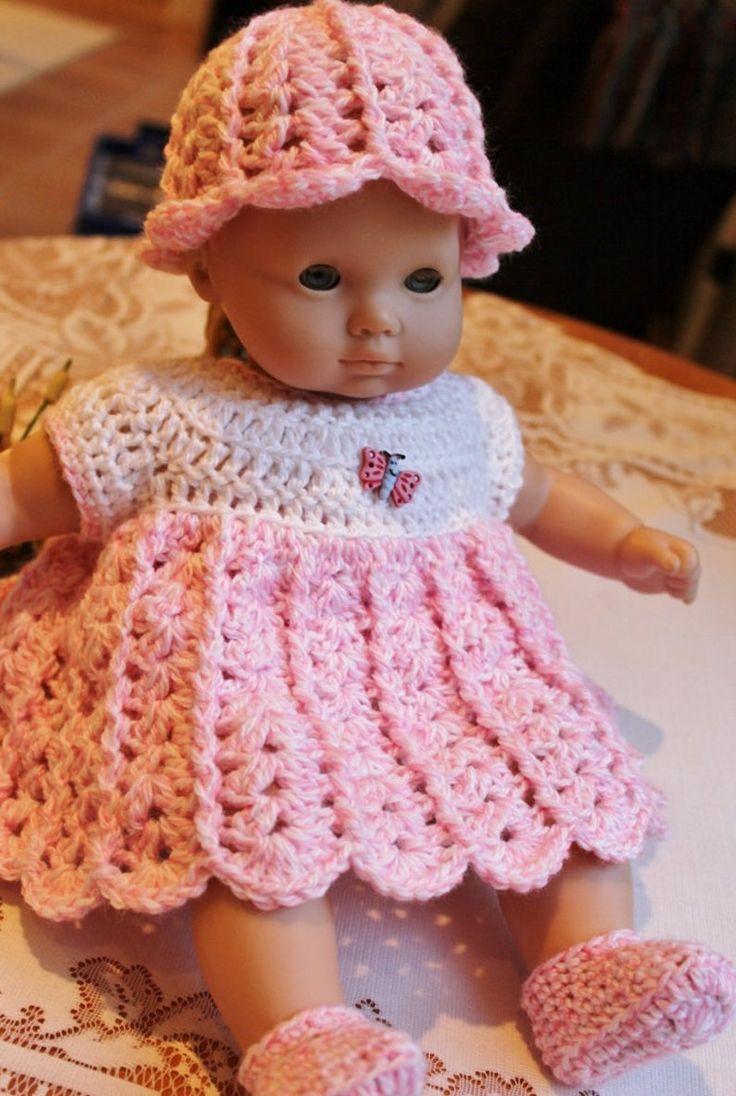 PDF PATTERN Crochet 15 16 inch AG Bitty Baby Doll Yarn
